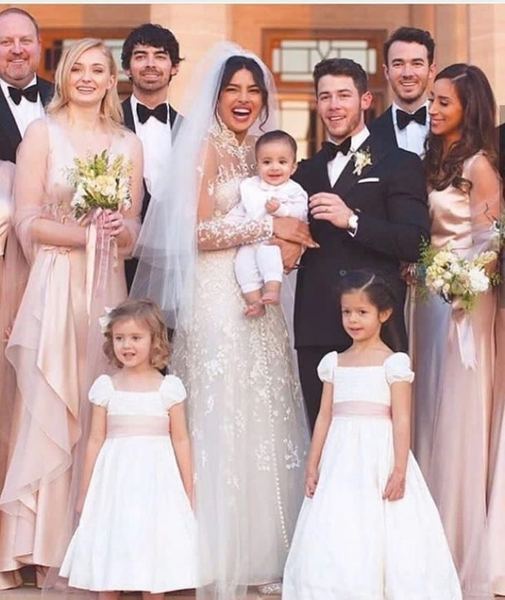 Couple S Wedding Ceremony And Reception Held At The Beach: Priyanka & Nick's Christian Vows Are A Reflection Of