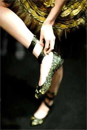 Cool Chic Style Fashion: Backstage | Alberta Ferretti collezione autunno-inverno 2014-15