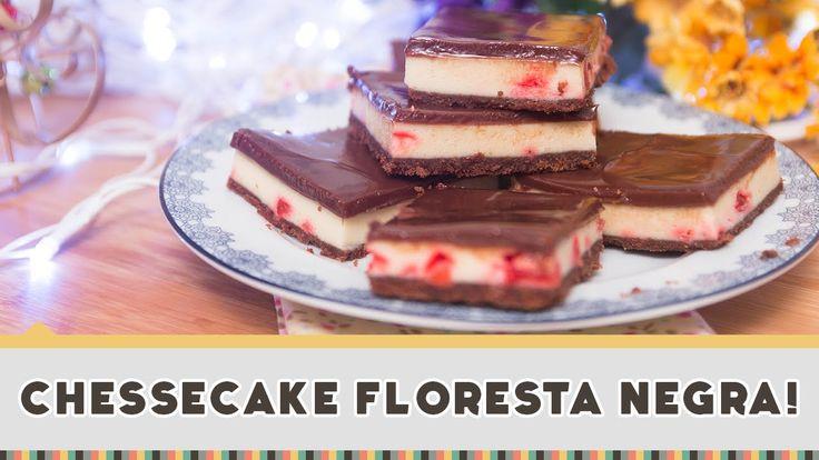 Cheesecake Floresta Negra - Receitas de Minuto #183