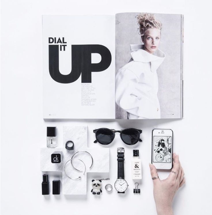 Using a magazine for styling inspiration| Image by @clickthisphoto   Product Styling Tips by CREATIVELY SQUARED | Styling | Create | Flatlay | Product Styling
