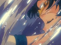 gif attack animated sailor moon sailor mercury tranform aqua rhapsody