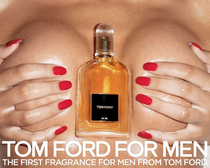 Tom Ford Men's Perfume 2007 Ad Campaign