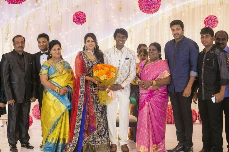 Jayam Ravi At Atlee Kumar And Priya Wedding Reception