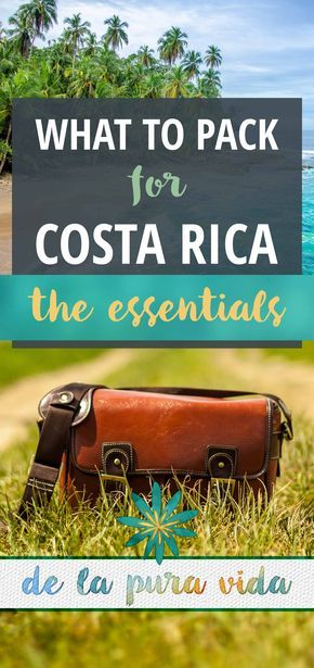 Costa Rica Packing List: The Essentials like the best eco-friendly bug spray and gear to protect your gear!