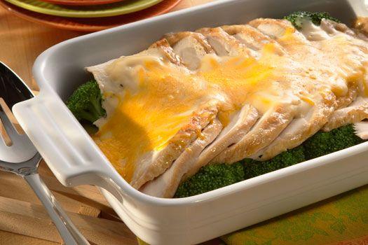 Cheddar turkey divan atkins recipes pinterest turkey for Turkey divan