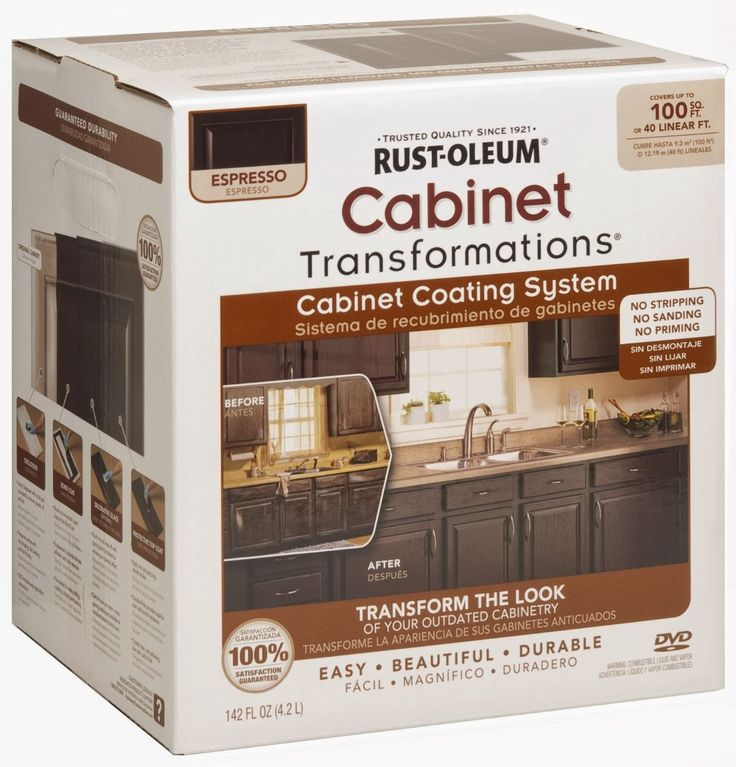 Rust Oleum Küchenfarbe: Rust-Oleum Cabinet Transformation Review (Before & After