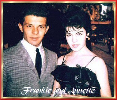 Frankie Avalon and Annette