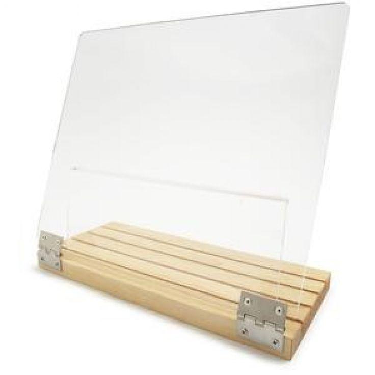 Clear Solutions Cookbook Holder] Cabinet Mounted Cookbook Holder .