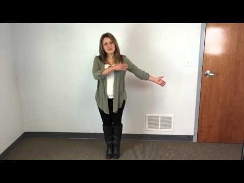 Median Nerve Glide for Carpal Tunnel Syndrome - YouTube