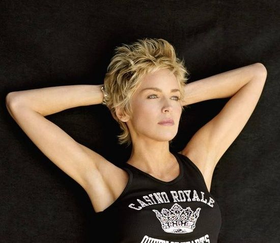 The 25 best sharon stone hairstyles ideas on pinterest sharon sharon stone short hairstyles sharon stone short hair short urmus Choice Image