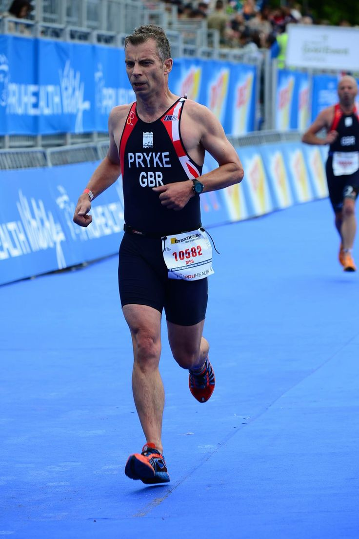 """Following on from competing for the GB Team at the European Finals in Turkey in June, Managing Director of BAM Design, Andrew Pryke, was one of the Age Group GB Triathlon Team competing in the rain at the weekend in Hyde Park. He said """"The swim was wet and the run didn't feel much dryer!"""""""