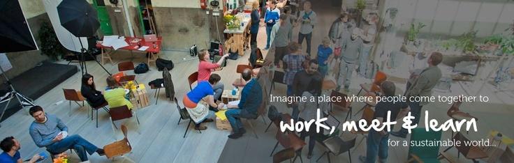 Work meet learn at the hub