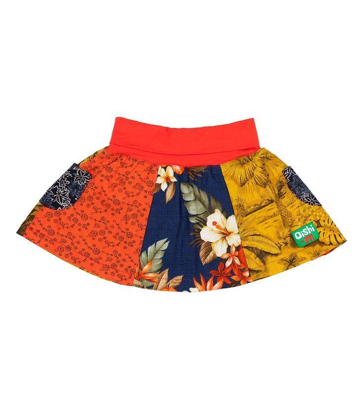 Holiday Skirt, Oishi-m Clothing for kids, Hi Summer 2015, www.oishi-m.com