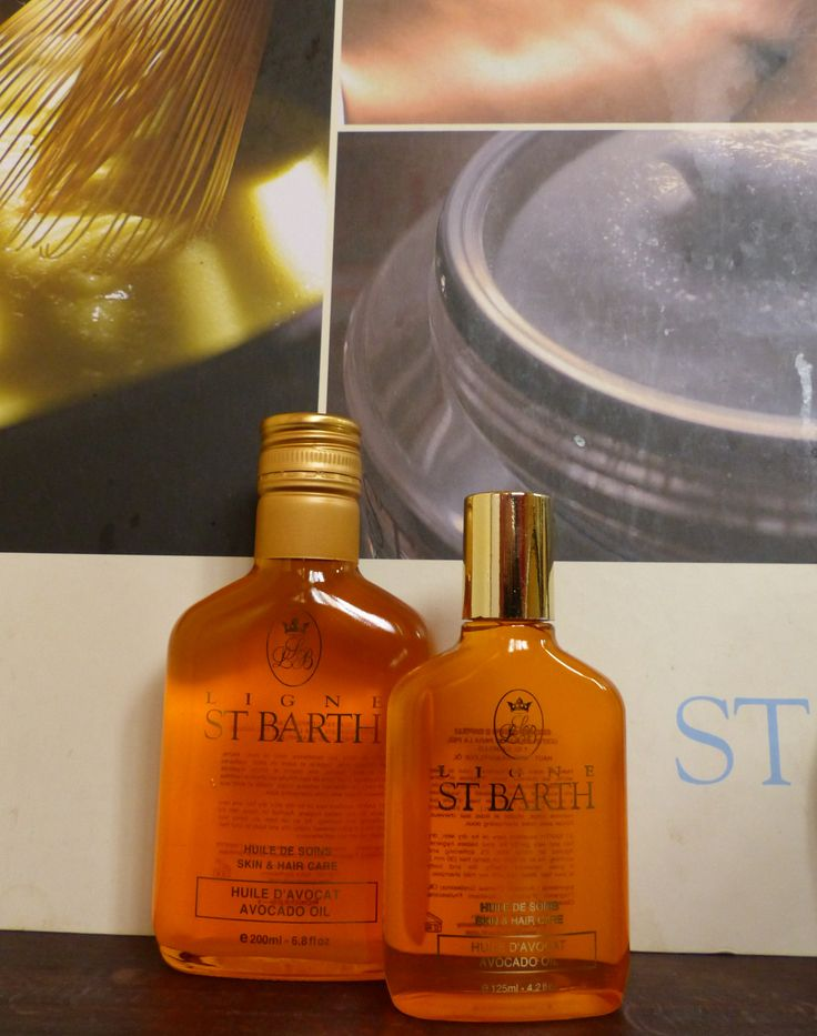Avocado oil by #LIGNE St. Barth - for a softer skin ;)