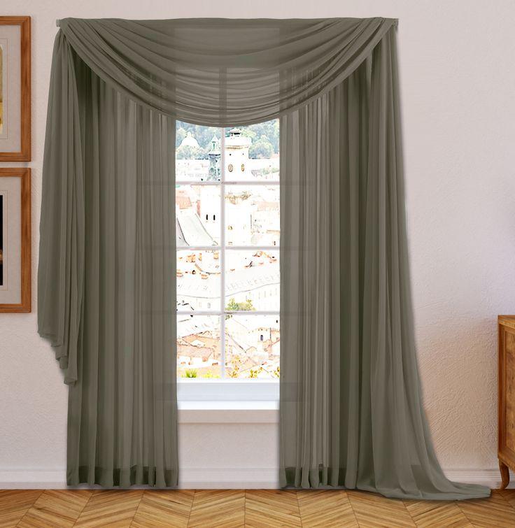 17 Best Ideas About Scarf Curtains On Pinterest Unique