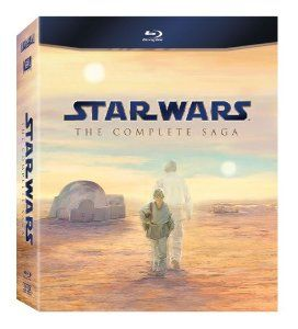 Star Wars: The Complete Saga (Episodes I-VI) [Blu-ray] - All six live-action Star Wars feature films in the highest possible picture and audio presentation! Star Wars Episode I: The Phantom Menace; Episode II: Attack of the Clones; Episode III: Revenge of the Sith; Episode IV: A New Hope; Episode V: The Empire Strikes Back; and Episode VI: Return of the Jedi