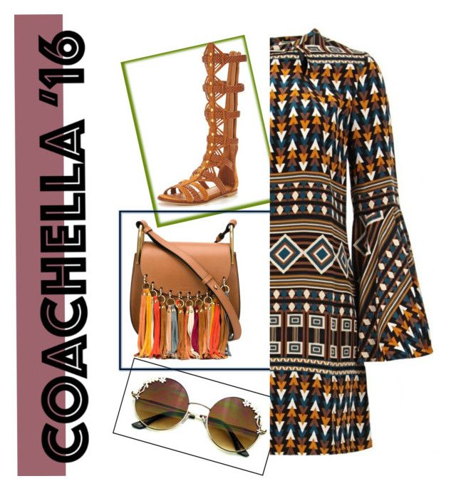 """Coachella 2016"" by clareceq29 on Polyvore featuring Issa, KG Kurt Geiger and Chloé"
