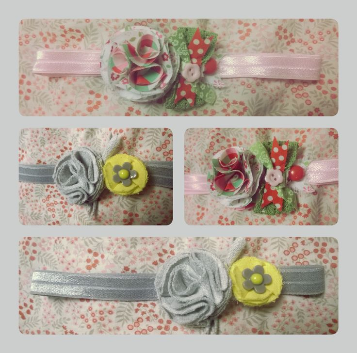 Girl flowers headband