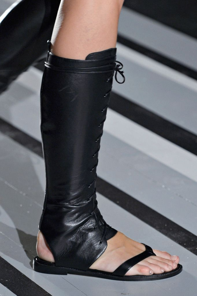 FLAT GLADIATOR-BOOTS A... Victoria Beckham Shoes