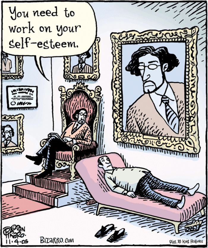 Hilarious Bizarro Comics Are Proof That Humor Is The Best Therapy Cartoon Jokes, Funny Cartoon Pictures, Funny Cartoons, Funny Jokes, Hilarious, Funny Shit, Bizarro Comic, Therapy Humor, Far Side Cartoons
