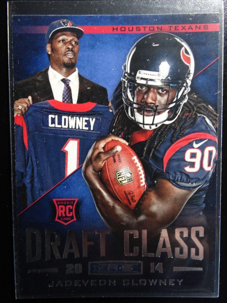 2014 Panini Rookies and Stars #DC-1 Jadeveon Clowney Texans Draft Class Card #HoustonTexans