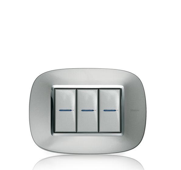 Bticino/ Axolute/ Aluminio Axolute