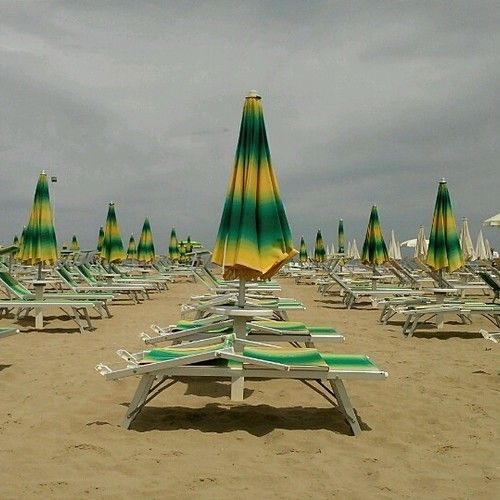 """Sound Of Rimini Beach at Bagno 44 - """"The sound of Italy"""" by @travelsofadam"""