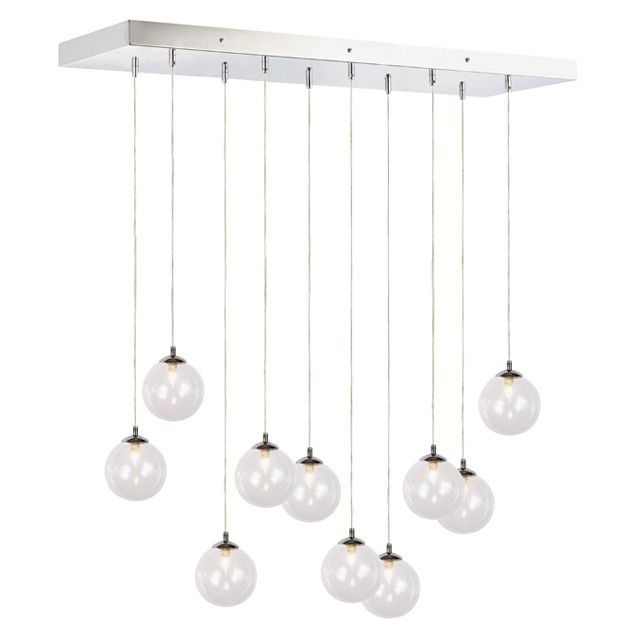 Lustre wakusei chrome 25w castorama home sweet for Suspension castorama