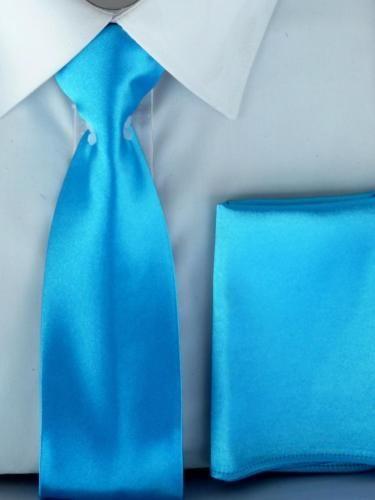 Farblich-abgestimmte-JuJu-amp-Christine-Satin-Herren-Krawatte-mit-Einstecktuch