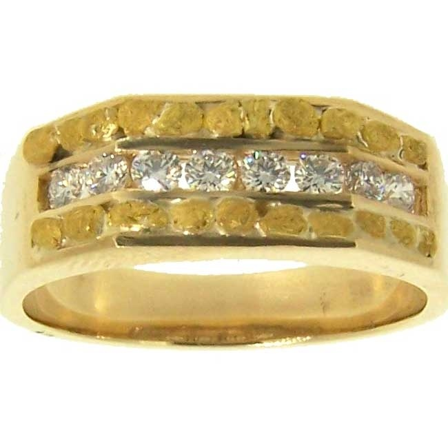 9 best Gold Nugget Wedding Bands images on Pinterest Fairbanks