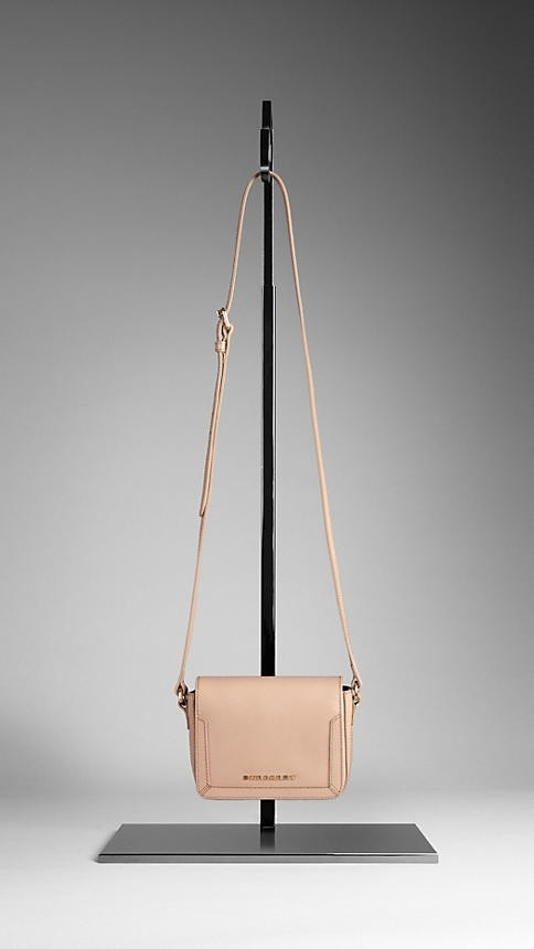 London Leather Crossbody by Burberry