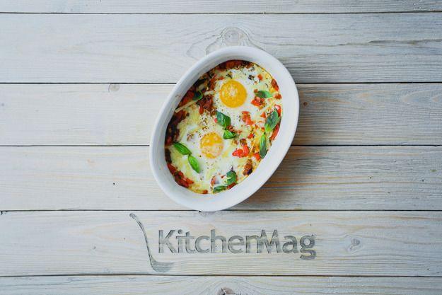 Запеченные яйца по-португальски: пошаговый рецепт - KitchenMag.ru