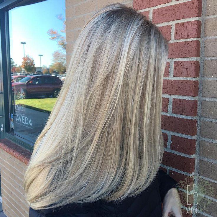 Platinum Blonde Highlights On Light Brown Hair Hairstyle