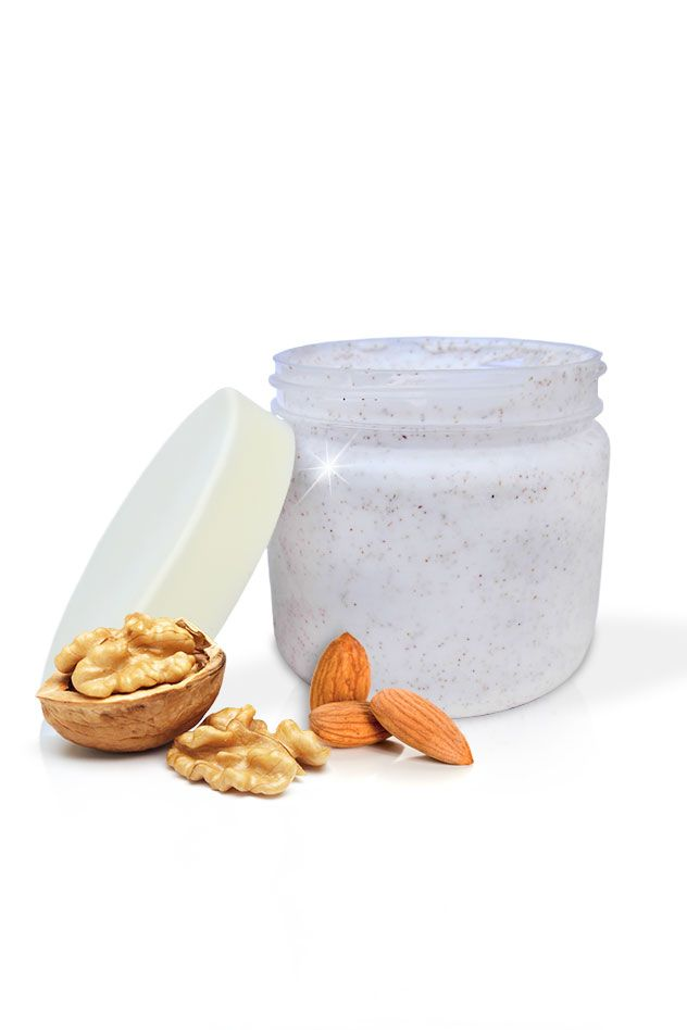 A #walnut & #almond #body #scrub #Exfoliates and #moisturises. Excellent for #body #polish A #must #have this #winters   available exclusively on thesgstore.com