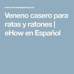 Veneno casero para ratas y ratones | eHow en Español