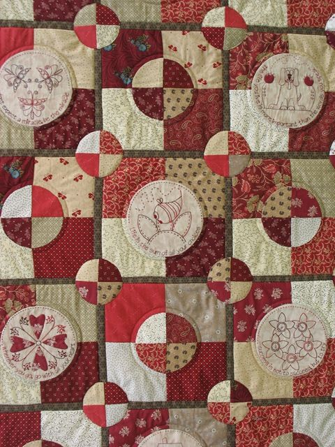Quilt as you go tutorial -- for big quilts