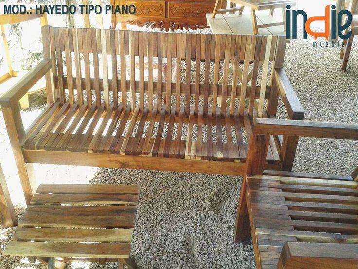 Sala modelo: Hayedo tipo piano. Estrena esta hermosa sala para exterior resistente a la interperie ideal para todo tipo de clima. Calidad incomparable! #indiemuebles #gratis #descuentos #muebleria #mueblesporcatalogo #catalogo2016_2017 #muebles #madera #tzalam #exterior #diseño #calidad #furniture #beautyfurnitures #furniturestore #wood #tzalamwood #design #quality #cancun #rivieramaya #mexico http://ift.tt/2dtKfxW