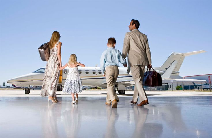family getting on private jet, power couple | More at: https://www.pinterest.com/OracleKailo/power-couple-lifestyle/