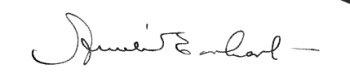 Amelia Earheart's signature