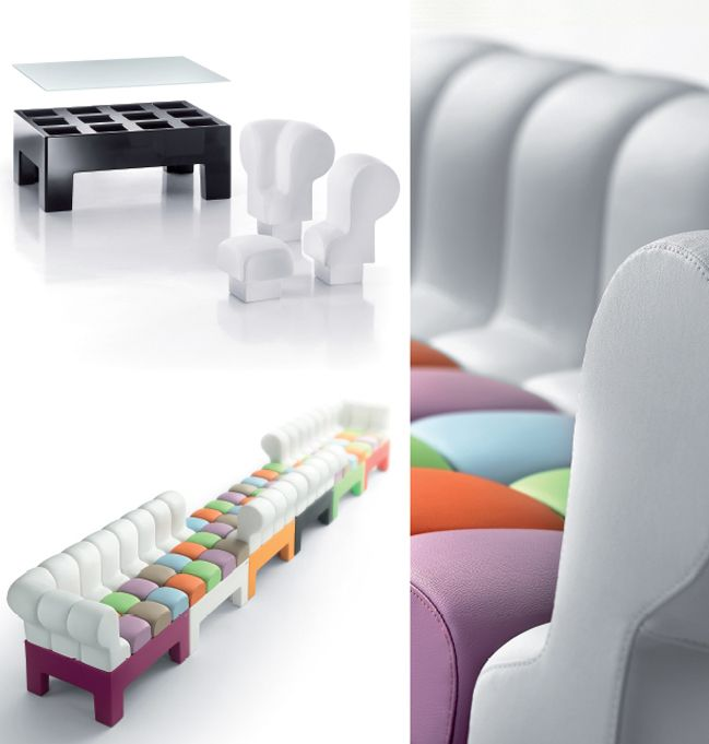Modì - Adjustable furniture, design by Alessandro Morello / MoreDesign for Myyour (2009)