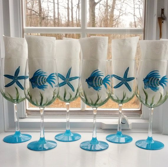 Handmade in the USA Gift Idea. Coastal Glasses by JoAnne: https://www.etsy.com/shop/GlassesbyJoAnne?section_id=11013639. Starting at $20.