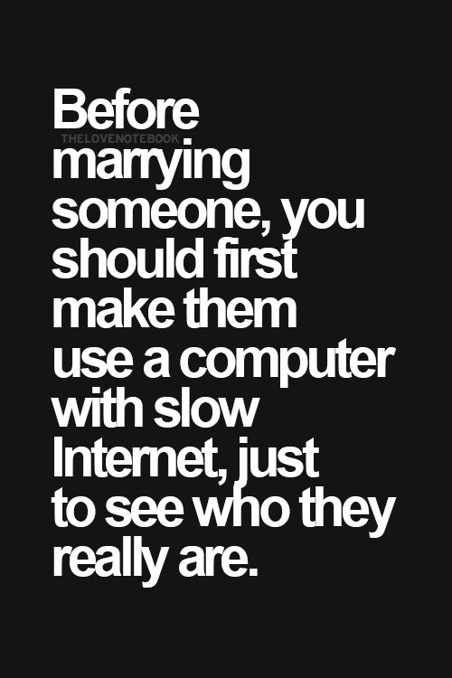 Slow Internet test