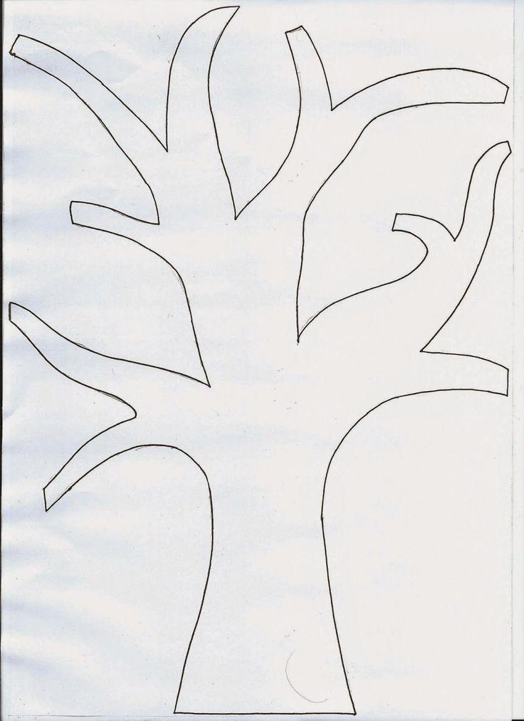 Tvoření od IVETULE: Strom do okna