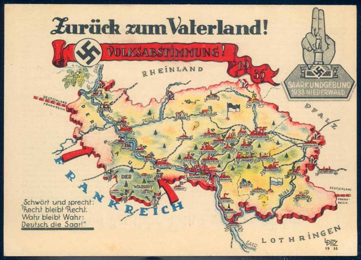 2635 best world war ii images on pinterest world war two wwii picture postcards and topics third reich propaganda saar plebiscite find this pin and more on world war ii gumiabroncs Choice Image