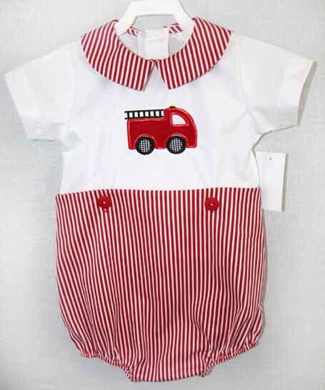 292001- Baby Fireman Outfit - Baby Boy Clothes - Baby Firefighter - Baby Fireman Outfit - Firetruck - Fire Truck Birthday - Fire Truck Party by ZuliKids on Etsy https://www.etsy.com/listing/205088051/292001-baby-fireman-outfit-baby-boy