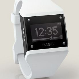 Basis Fitness Gadget Fixes Your Bad Habits- rated no. 1 of all fitness trackers. Includes a heart rate monitor...