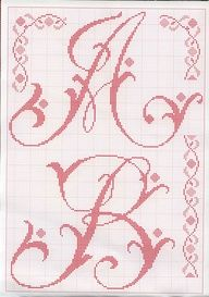 Crosstitch Letters