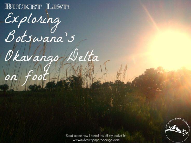 Botswana Bucket List