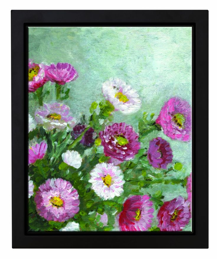 MCS 40004 16 by 20 Black Frame To Mount Finished Canvases