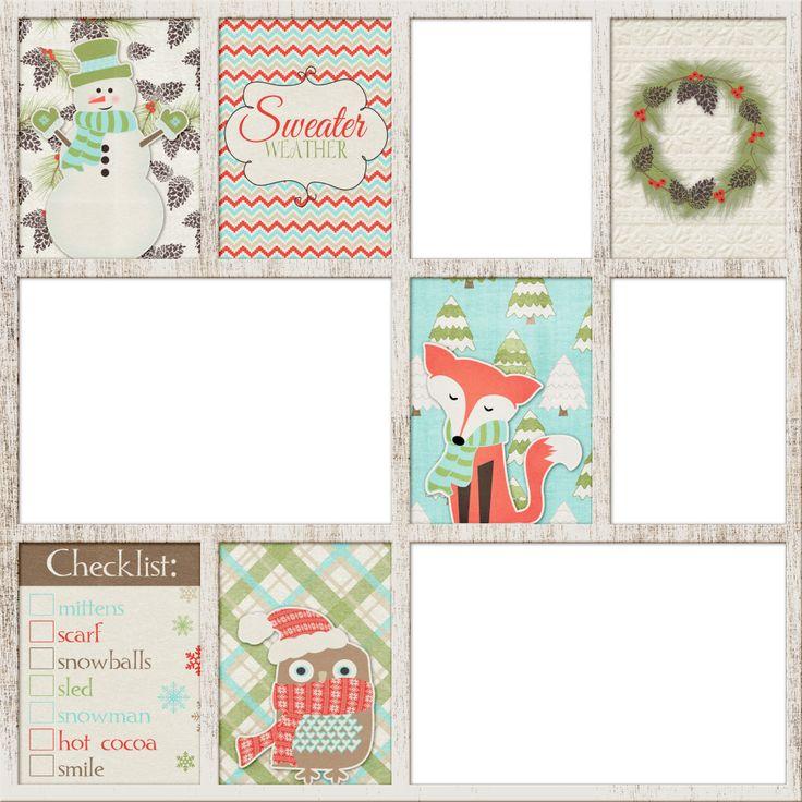 Scrapbooking TammyTags -- TT - Designer - Dreamn4Ever Designs, TT - Item - Quick Page, TT - Theme - Winter or Snow